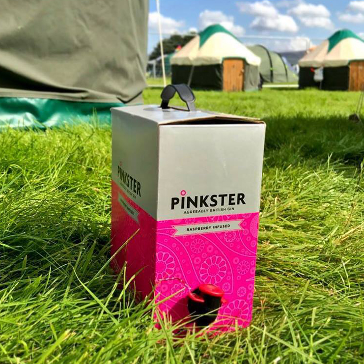 Festival gin box